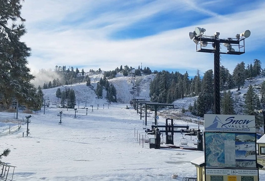 3-5 Inches of New Snow on Nov 30