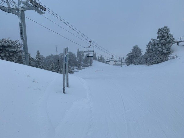 01-06-19: The Snow Valley Express Is Operating With Plenty of New Snow to Enjoy